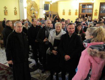 Pan Prezydent w naszym kościele 7