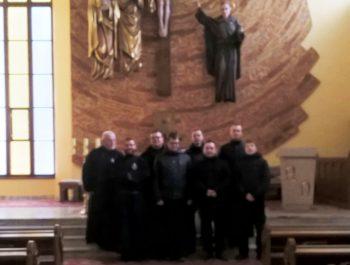 Odwiedziny O. Konsultora , O. Duchownego wraz klerykami z Warszawy 4
