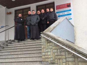Odwiedziny O. Konsultora , O. Duchownego wraz klerykami z Warszawy 3