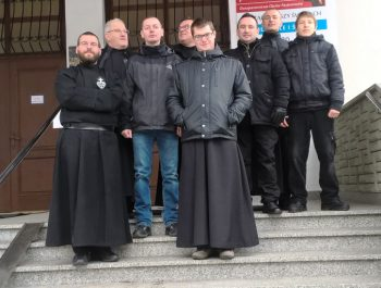Odwiedziny O. Konsultora , O. Duchownego wraz klerykami z Warszawy 2