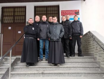 Odwiedziny O. Konsultora , O. Duchownego wraz klerykami z Warszawy 1