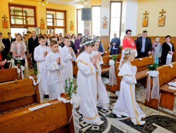 I Komunia Święta w parafii 4