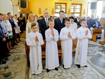 I Komunia Święta w parafii 5
