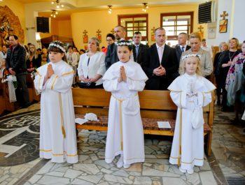 I Komunia Święta w parafii 6