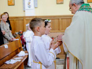 I Komunia Święta w parafii 11