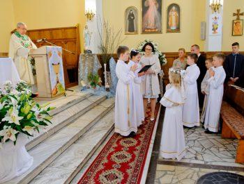 I Komunia Święta w parafii 13