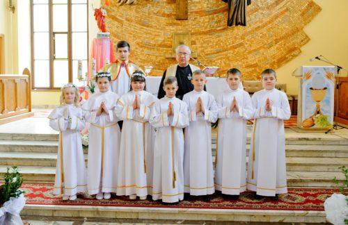 I Komunia Święta w parafii