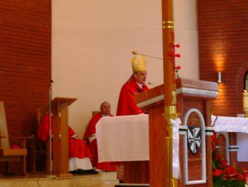 Bierzmowanie młodzieży z naszej parafii