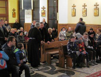 Wizyta Prezydenta RP wraz z małżonką w naszym kościele 1