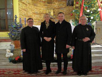 Wizyta Prezydenta RP wraz z małżonką w naszym kościele 10