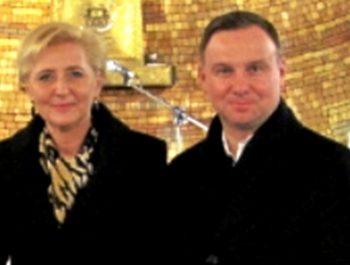 Wizyta Prezydenta RP wraz z małżonką w naszym kościele