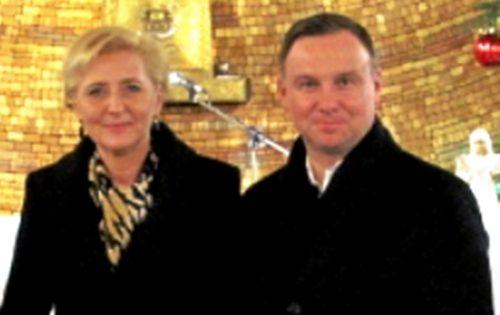 Uroczystość św. Bożej Rodzicielki Maryi – wizyta Prezydenta RP wraz z małżonką w naszym kościele