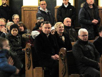 Wizyta Prezydenta RP wraz z małżonką w naszym kościele 3