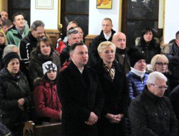 Wizyta Prezydenta RP wraz z małżonką w naszym kościele 4