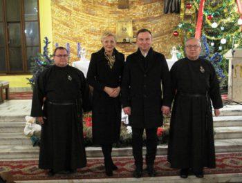 Wizyta Prezydenta RP wraz z małżonką w naszym kościele 9
