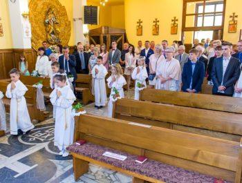 Pierwsza Komunia Święta w parafii 12