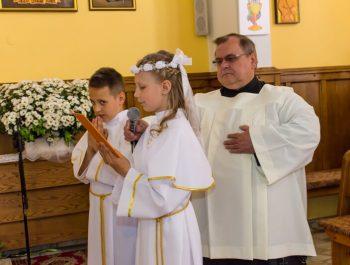 Pierwsza Komunia Święta w parafii 16