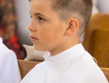 Pierwsza Komunia Święta w parafii 22