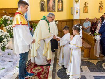 Pierwsza Komunia Święta w parafii 27