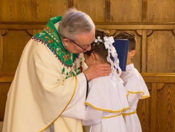 Pierwsza Komunia Święta w parafii 40