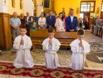 Pierwsza Komunia Święta w parafii 46