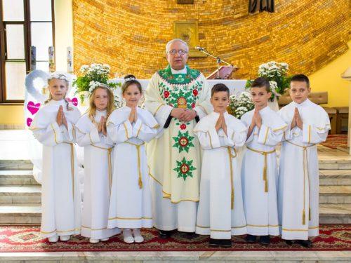 Pierwsza Komunia Święta w parafii
