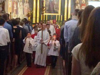 Bierzmowanie młodzieży z naszej parafii 3