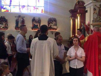 Bierzmowanie młodzieży z naszej parafii 13