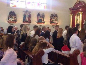 Bierzmowanie młodzieży z naszej parafii 15