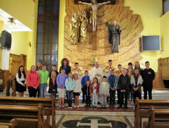 Msza święta na rozpoczęcie nowego roku szkolnego 2018/19 7