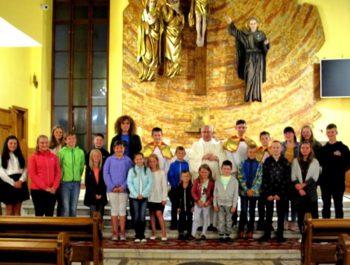 Msza święta na rozpoczęcie nowego roku szkolnego 2018/19 8