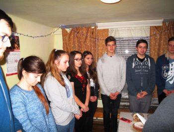 Młodzieżowa wigilia 2018 1