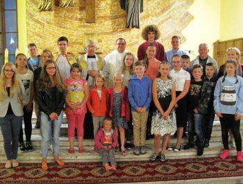 Msza święta na rozpoczęcie nowego roku szkolnego 2016/17