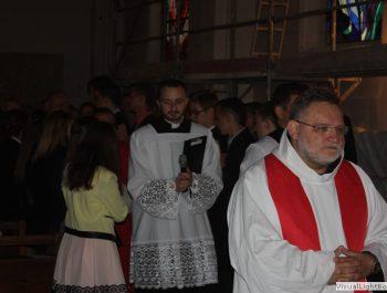 Bierzmowanie młodzieży z naszej parafii 11