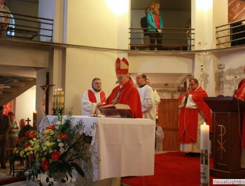Bierzmowanie młodzieży z naszej parafii 14