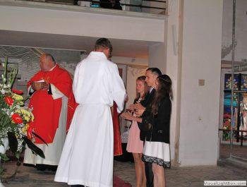 Bierzmowanie młodzieży z naszej parafii 19