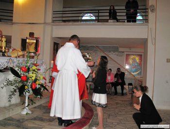 Bierzmowanie młodzieży z naszej parafii 26