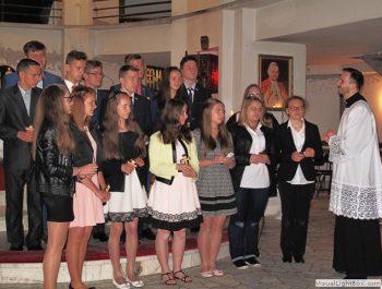 Bierzmowanie młodzieży z naszej parafii 50