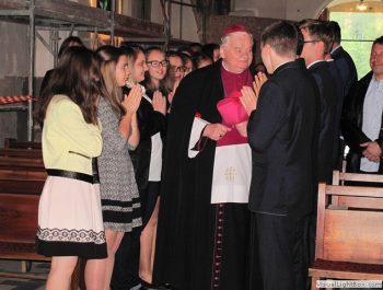 Bierzmowanie młodzieży z naszej parafii 6