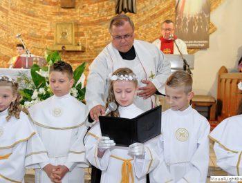 I Komunia Św. w parafii 6