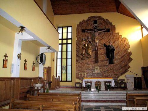 Msze święte już w kościele
