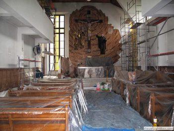 Prace remontowe w kościele – już rozpoczęte 12