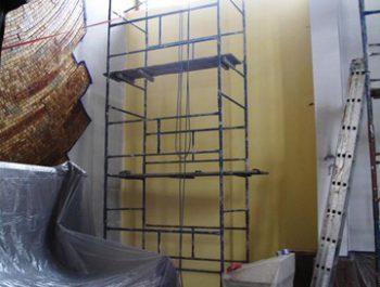 Prace remontowe w kościele – już rozpoczęte 15
