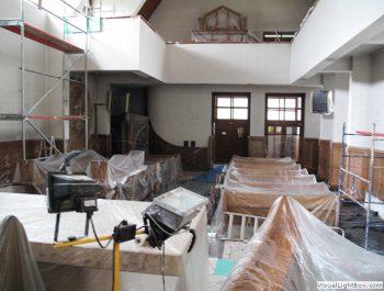 Prace remontowe w kościele – już rozpoczęte 16