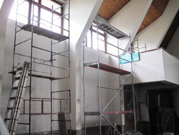 Prace remontowe w kościele – już rozpoczęte 18
