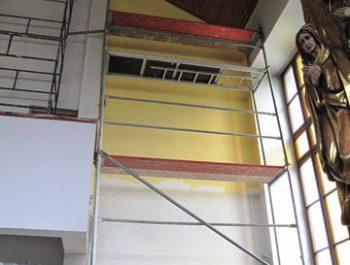 Prace remontowe w kościele – już rozpoczęte 19