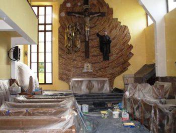 Prace remontowe w kościele – już rozpoczęte 20