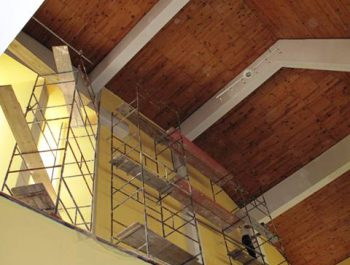 Prace remontowe w kościele – już rozpoczęte 21
