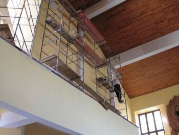 Prace remontowe w kościele – już rozpoczęte 22