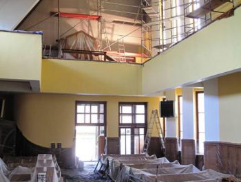 Prace remontowe w kościele – już rozpoczęte 23